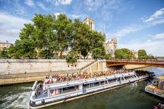 都市风景视图在巴黎 免版税库存图片