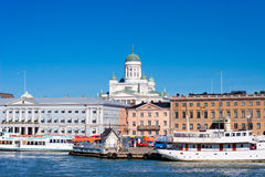 都市风景赫尔辛基 库存照片