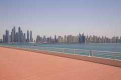 都市风景迪拜 图库摄影
