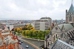 都市风景都伯林爱尔兰 免版税库存图片