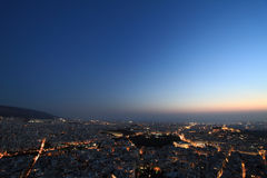 都市风景雅典希腊 库存照片