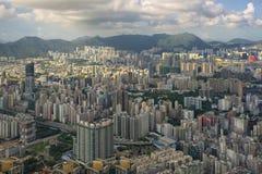 都市风景香港 免版税图库摄影
