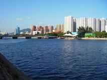 都市风景香港 免版税库存图片