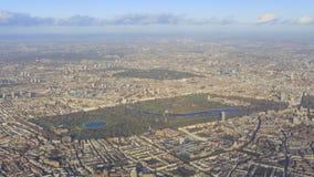 都市风景鸟瞰图在伦敦附近的 免版税图库摄影
