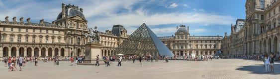 都市风景,全景,横幅-天窗宫殿的看法 免版税库存照片