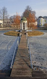都市风景,拉脱维亚 免版税库存图片