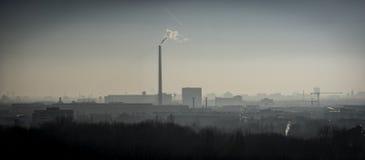 都市风景,柏林在冬天 库存照片