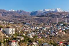 都市风景索契 俄国 图库摄影