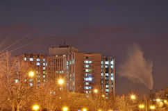 都市风景-布加勒斯特 免版税库存照片