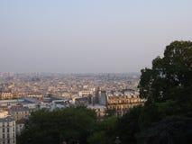 巴黎都市风景  免版税库存照片