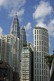 都市风景kl 库存图片