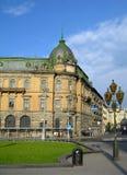 都市风景lviv乌克兰 库存图片