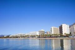 都市风景marbella西班牙 免版税库存照片