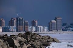都市高层buildingsnull 免版税图库摄影