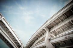 都市高速公路风景 库存图片