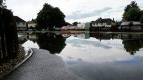 都市洪水6月16日 免版税库存图片
