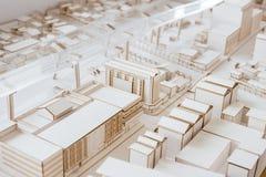 都市Architecure模型 免版税库存图片