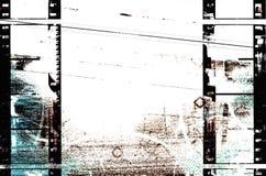 都市filmstrips的grunge 库存例证