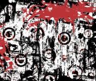 都市grunge的泼溅物 库存照片