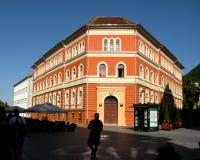 都市lanscape在布拉索夫, Transilvania 免版税库存图片
