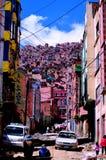 都市tetris 库存照片