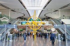 都柏林机场,爱尔兰 库存照片