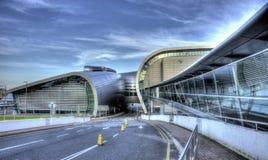 都柏林机场 免版税库存照片