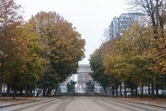 都灵风景视图  免版税图库摄影