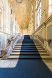 都灵,山麓,意大利, 2016年1月06日 宫殿Madama,著名p 库存照片