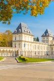 都灵,山麓,意大利, 2017年11月01日 瓦伦蒂诺城堡, Turi 免版税图库摄影