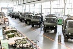 鄂木斯克,俄罗斯- 2013年7月16日:电子设备工厂额尔齐斯 免版税库存照片
