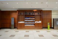 酋长管辖区业务分类休息室内部 库存图片