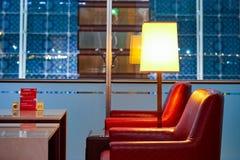 酋长管辖区业务分类休息室内部 库存照片