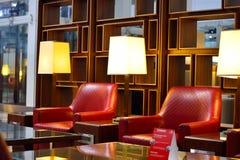 酋长管辖区业务分类休息室内部 免版税库存照片
