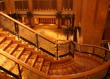 酋长管辖区华园大饭店,阿布扎比 免版税图库摄影