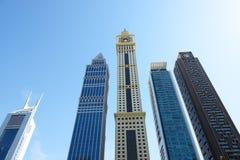 酋长管辖区塔和摩天大楼 图库摄影