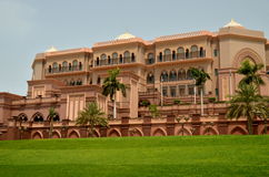 酋长管辖区宫殿,阿布格莱布Shabi,阿拉伯联合酋长国 库存图片