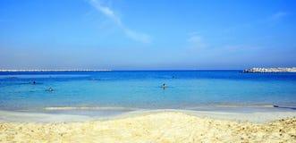 酋长管辖区海滩 免版税库存照片