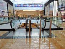 酋长管辖区的购物中心内部  库存图片