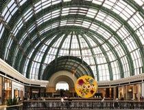 酋长管辖区的购物中心,迪拜阿拉伯联合酋长国 免版税图库摄影