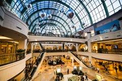酋长管辖区的购物中心 库存照片