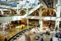 酋长管辖区的购物中心 免版税库存照片