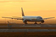 酋长管辖区航空公司 库存图片