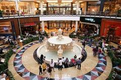 酋长管辖区购物中心 库存图片