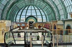 酋长管辖区迪拜的购物中心 库存照片