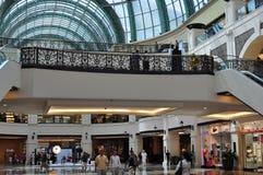 酋长管辖区dowstairs的购物中心 免版税库存图片