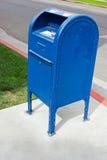 配件箱下落邮件 免版税图库摄影