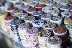 配件箱中国人牙签 免版税库存照片