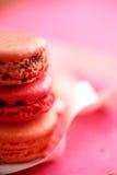 配件箱五颜六色的蛋白杏仁饼干 免版税库存图片