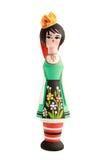 配件箱保加利亚人玩偶 免版税库存图片